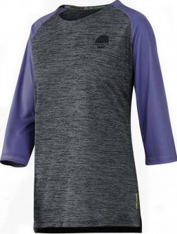 IXS Carve X Jersey graphit-grape WOMEN