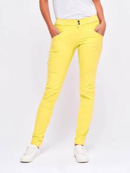 LOOKING FOR WILD Laila Pant gelb WOMEN