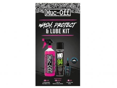 MUC OFF Wash Protect Lube Kit Wet