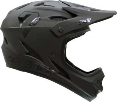 SEVEN M1 Youth Helm DH schwarz KINDER