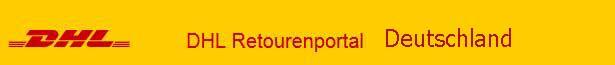DHL Retourenportal für Kunden aus Deutschland